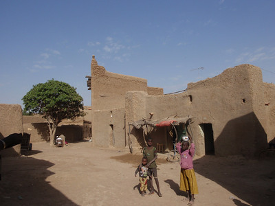 179_Djenne Old Town  Labyrinthe Streets