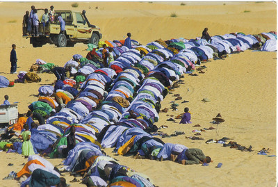 040_Timbuktu  The Muslim Prayer  The City is Fiercely Islamic