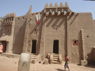201_Djenne Old Town  Part 2  Bottom Floor for Storage and Selling