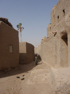 260_Mopti  The Fula Quarter  Narrow Alley  Like a Maze