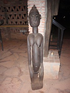 351_Mopti  Bambara Woodcarvings  Noted for their Angular Forms