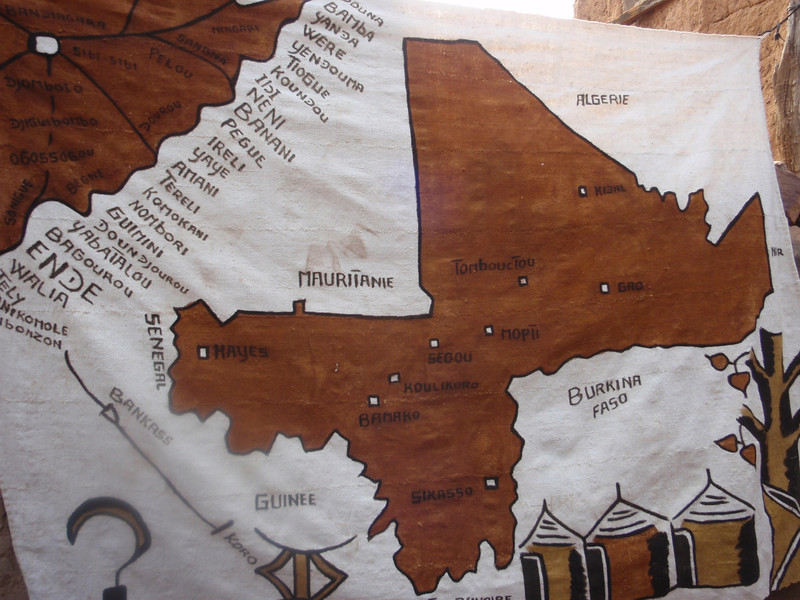 004_Mali and Dogon Country  Cities along Bandiagara Escarpment