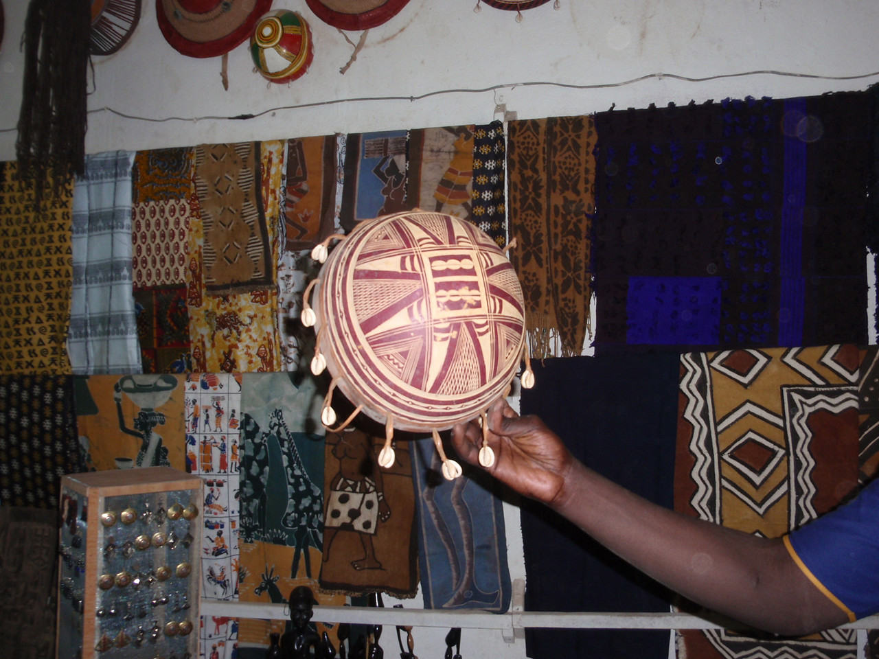 306_Mopti  The Craft Centre  A Musical Instrument