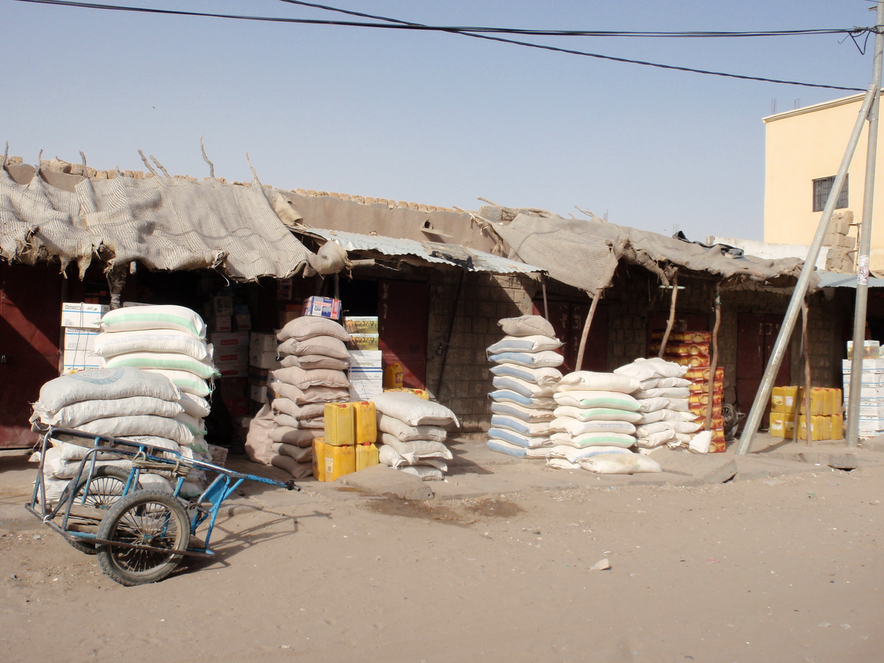 114_Timbuktu  The Grand Marche  Grains, Rices, Maizes for Sale