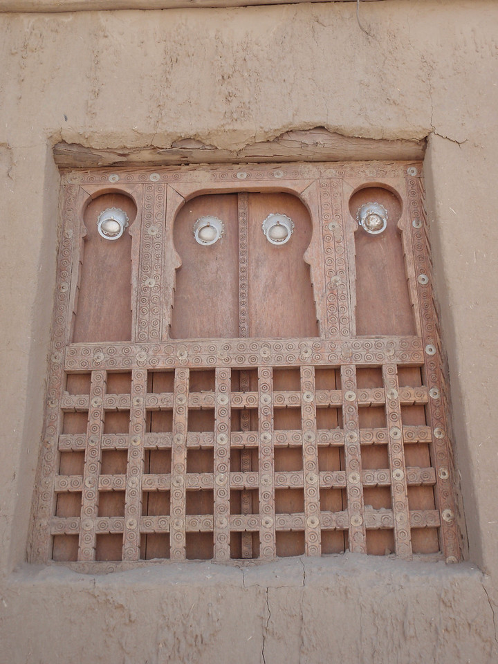 071_Timbuktu  Dyingerey Ber Mosque  Elaborate Window