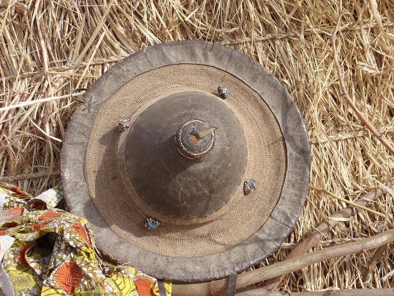 251_Mopti  The Fulani Tribe  Typical Local Farmer Hat