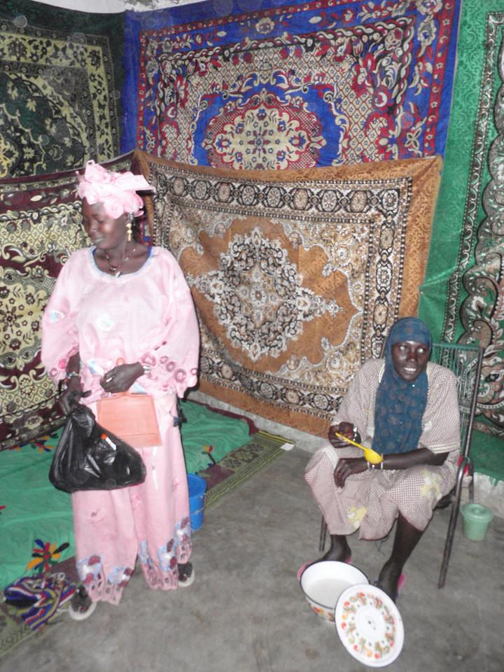 363_Niger River Trip  Fulani Fishing Village  Interior of Private House