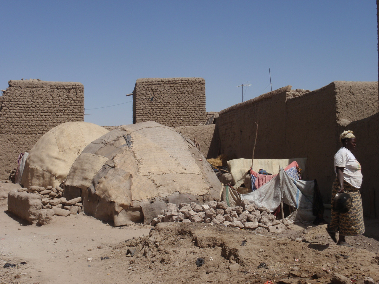 078_Timbuktu  The Habitations of the Poor People
