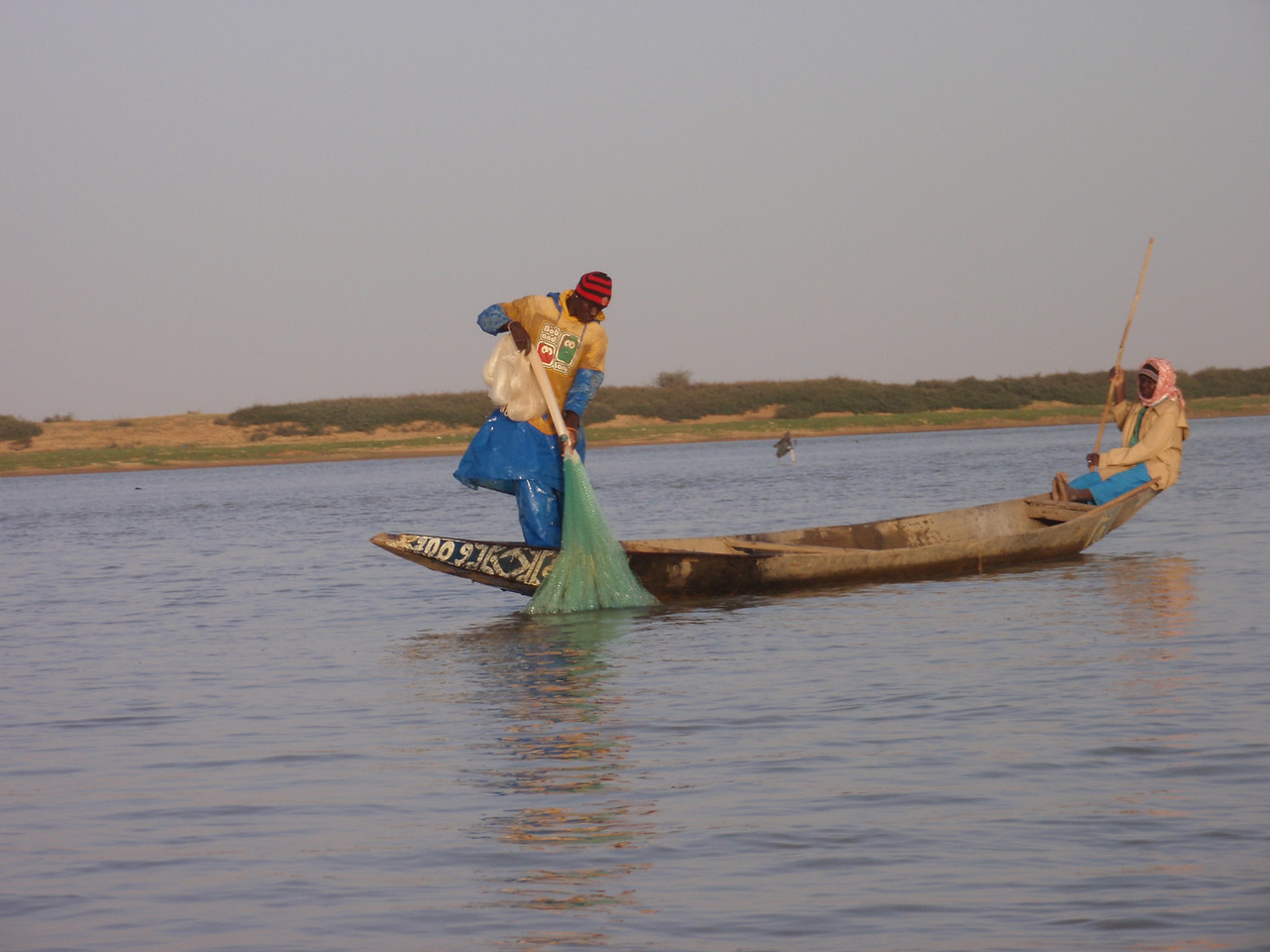 357_Niger River  Flows 1626km in Mali  Line with Fascinating Villages