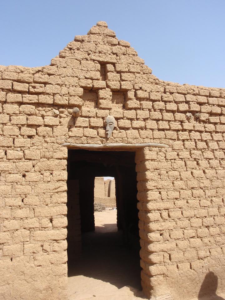 225_Parandougou   Bobo Tribe  Spiritual Mask Protecting the House