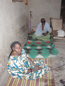 203_Djenne Old Town  The Traditional Chief and His Wife