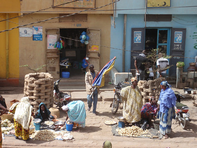 303_Mopti  The Vast Public Market