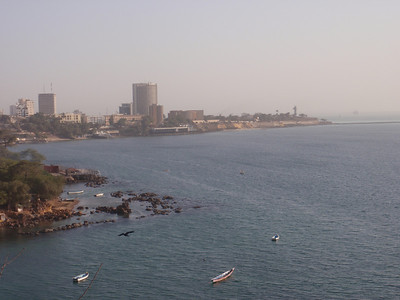 012_Dakar  Population 2 4 Million  The Rugged Atlantic Coastline
