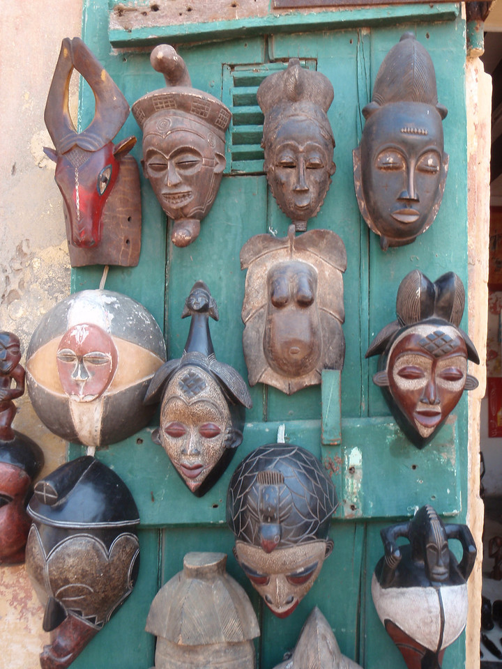 066_Goree Island  Arts and Crafts  Masks
