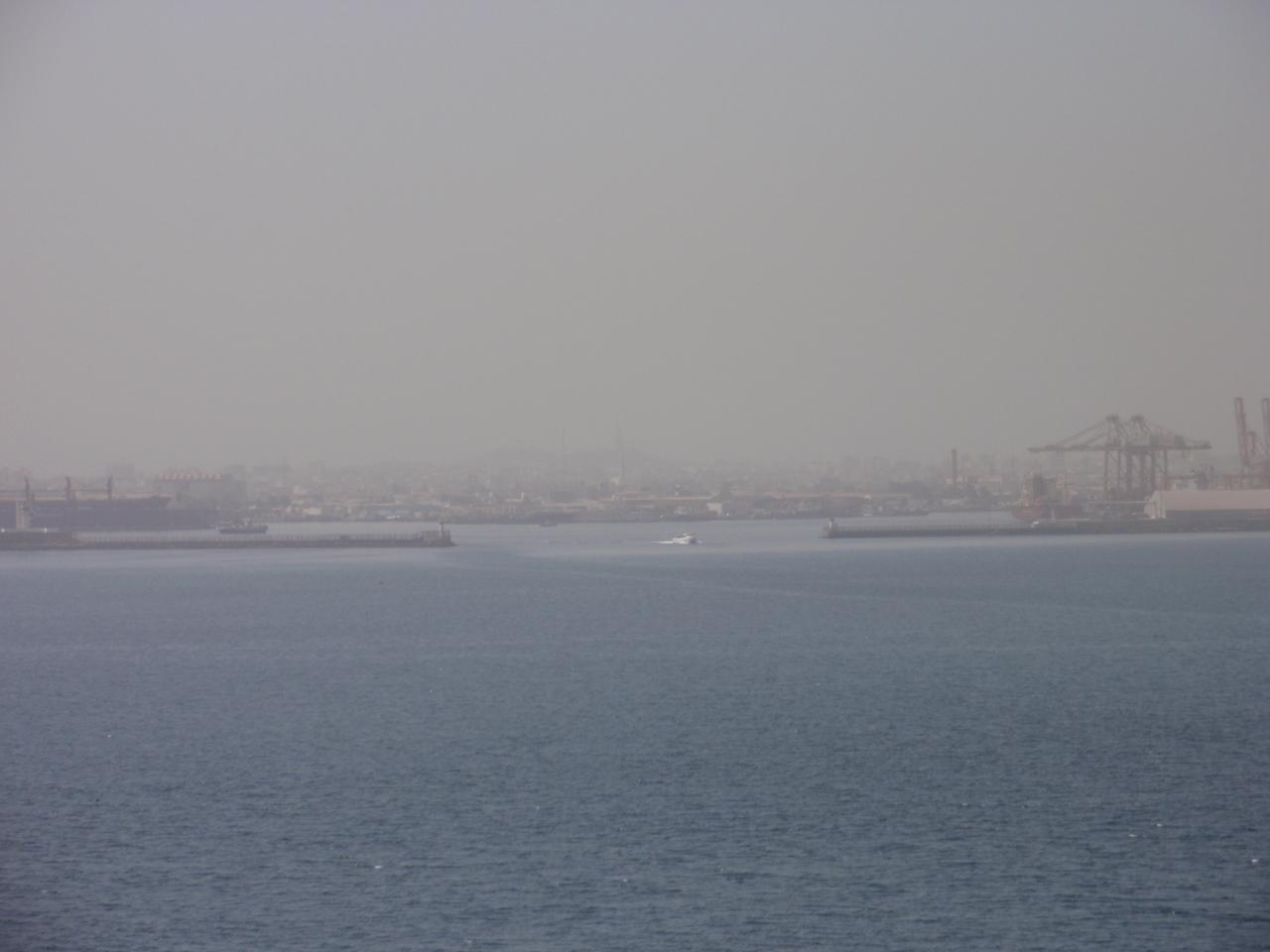 068_Dakar, seen from Goree Island