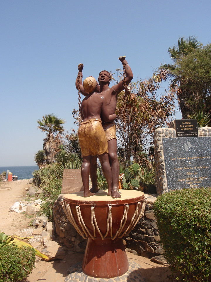 048_Statue of the Slavery Liberation  Offered by Guadeloupe