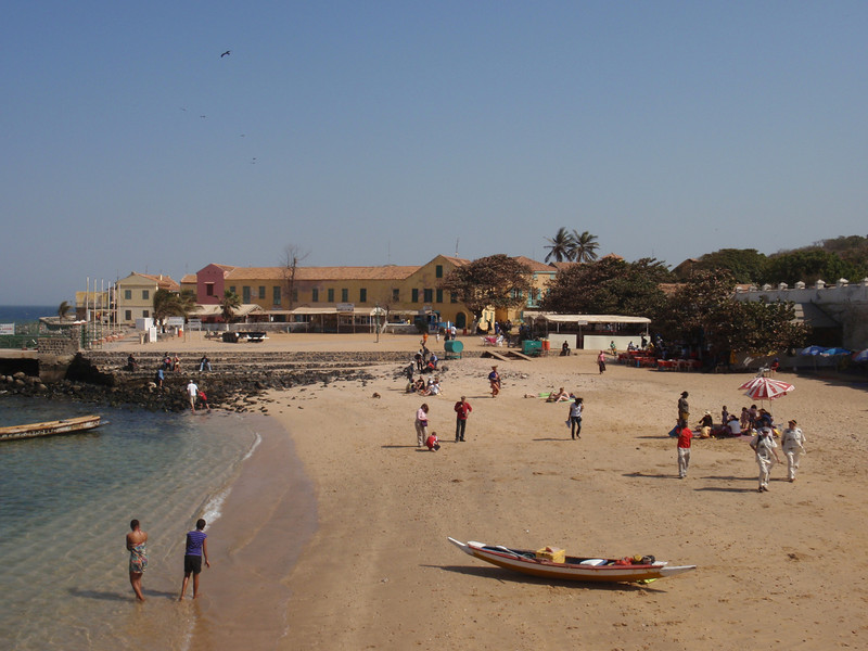 043_Goree Island  The Beach