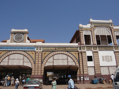 011_Dakar  The Train Station  Known for the Dakar-Bamako Liaison