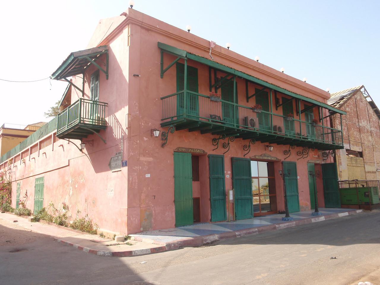 097_Saint Louis  La Maison Rose  Saint-Louisian Villa Style  19th  C