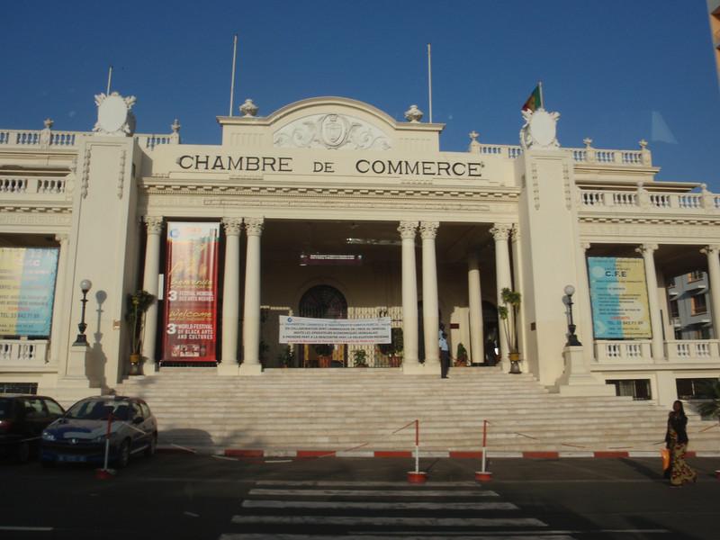 009_Dakar  French Colonial Flavour  The Chambre de Commerce