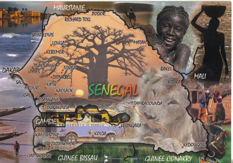 004_Republique du Senegal  Baobab Country  Population 11 Million