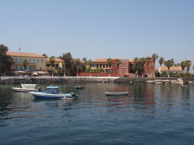 042_Goree Island  The Port and Colonial Buildings