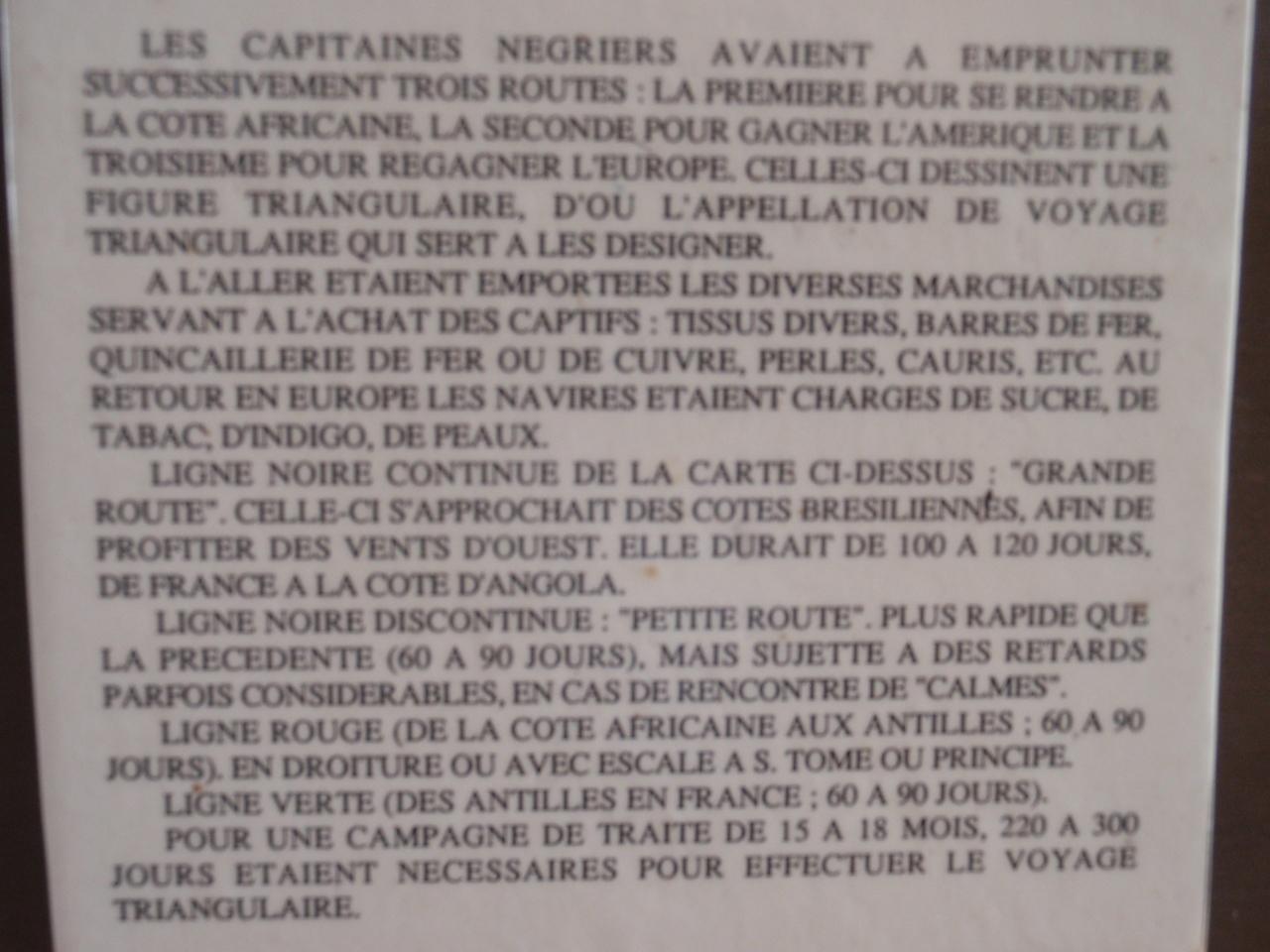 087_Saint Louis  Musee du C R D S  La Route Triangulaire