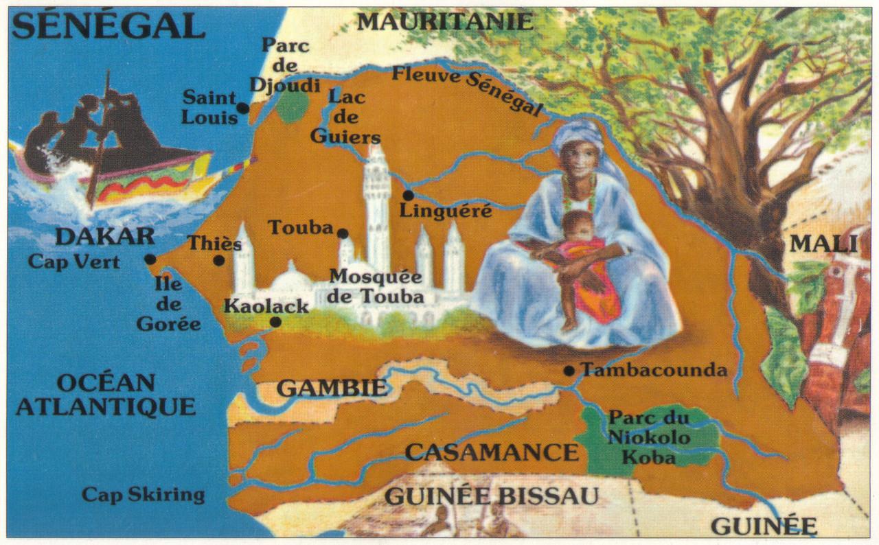 005_Senegal Republic  The Land of Teranga , Means Hospitality