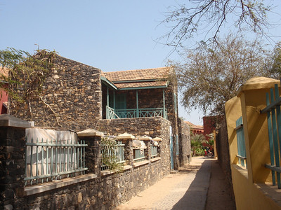 045_Goree Island  The Old Colonial Quarter  Narrow Alley