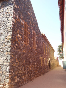 064_Goree Island  The Old Colonial Quarter  Narrow Alley