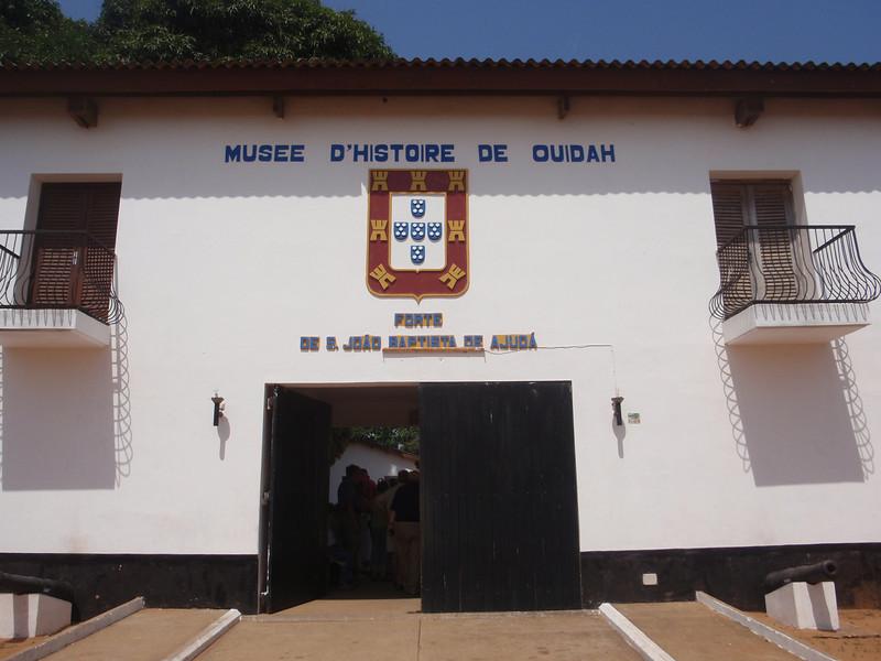 043_Ouidah  Fortalez Sao Joao Batista  Portugese Fort  1721