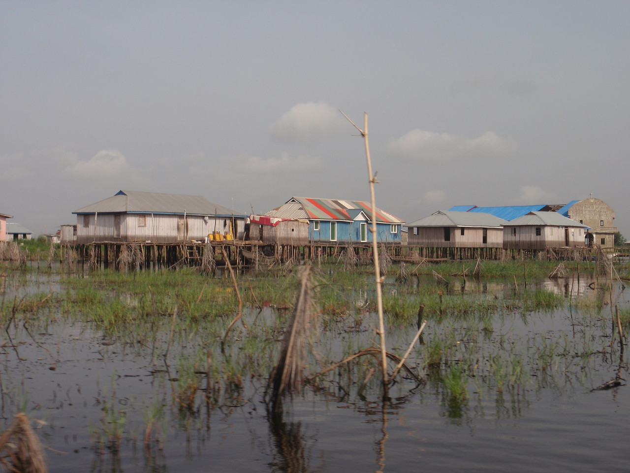 098_Ganvie Lake Community  Lake Nokoue  Tranquil Waterways