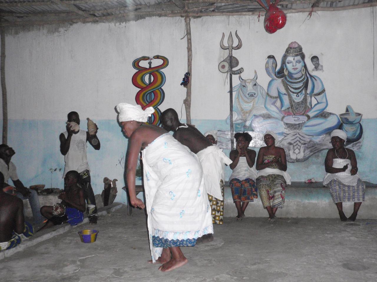 144_Cotonou  Voodoo Ceremony  Percussions, Chants, Devotion