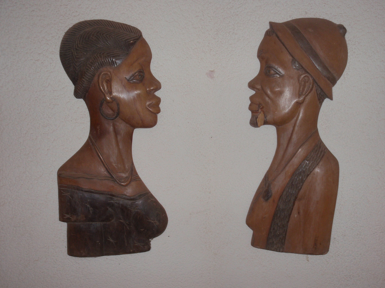 072_Abomey  Woodcarvings