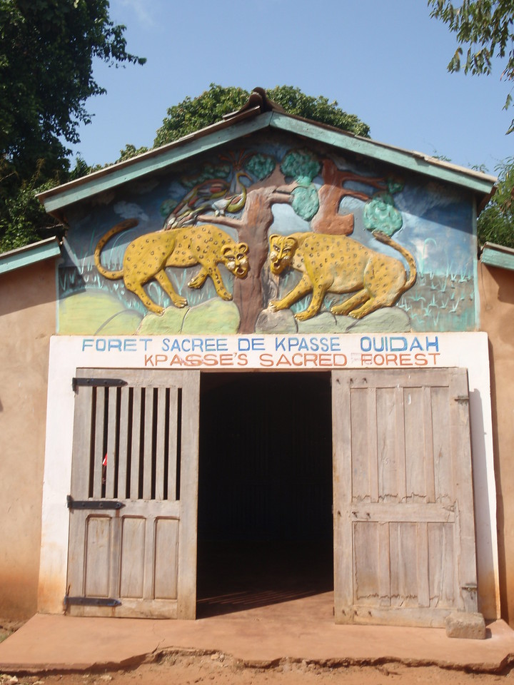 048_Ouidah  La Foret Sacree  An Important Voodoo Shrine