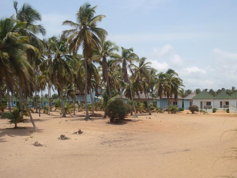027_Ouidah  Auberge Diaspora  The Huts