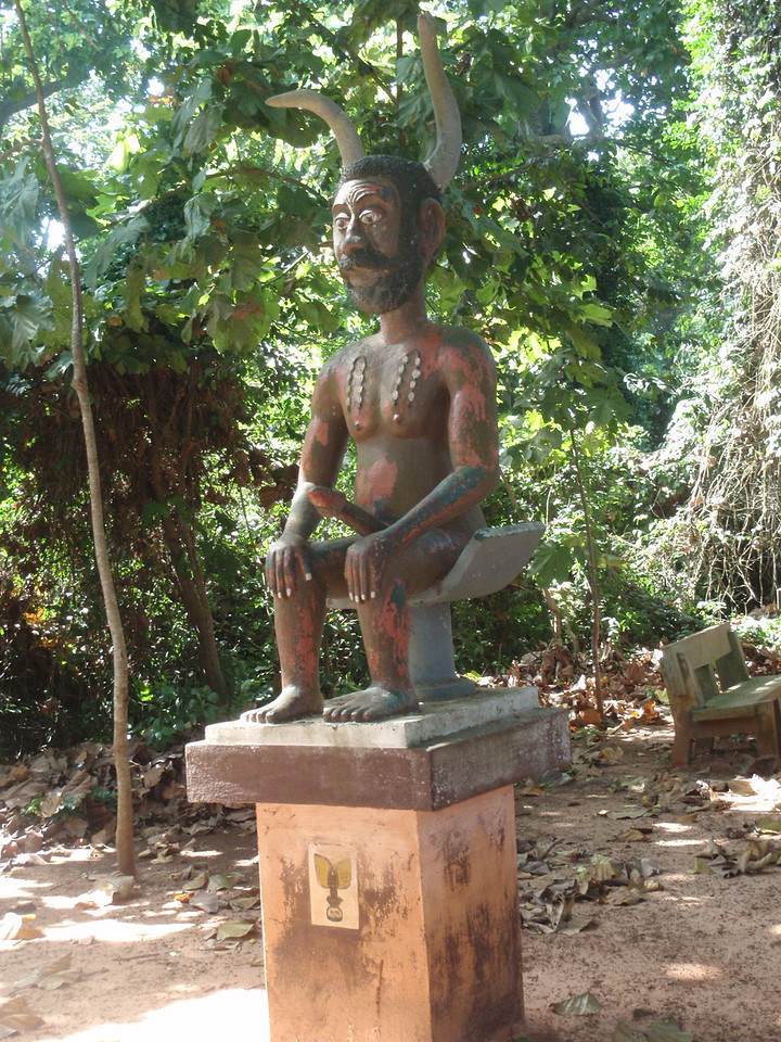 051_Ouidah  The Sacred Forest  Fertility and Power