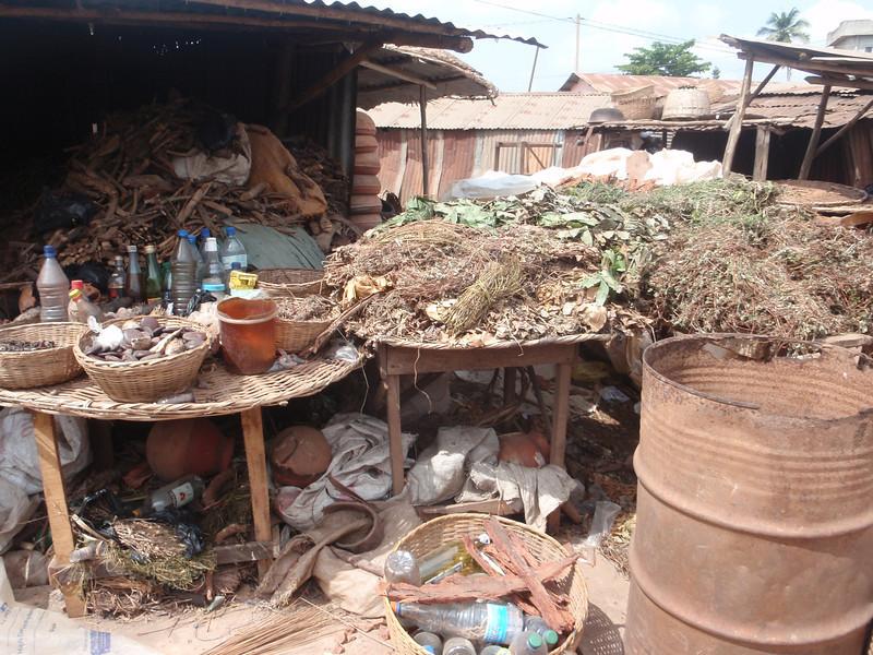 132_Abomey-Calavi Fetish Market  Raw Materials for Intervention