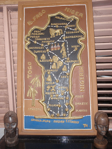 005_Benin Map  The Birthplace of Voodoo