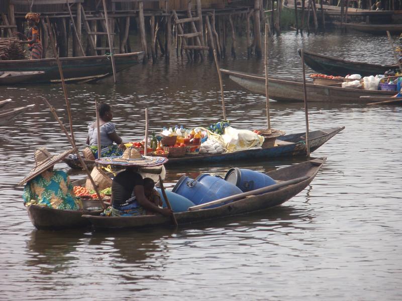 116_Ganvie Lake Community  Lake Nokoue  Small Floating Markets