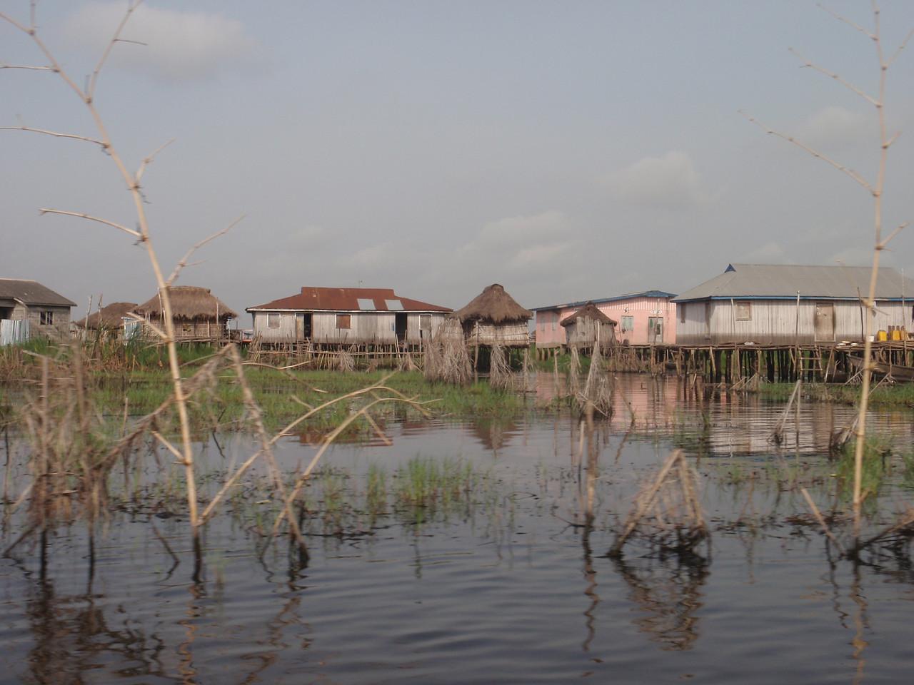 099_Ganvie Lake Community  Lake Nokoue  Tranquil Waterways