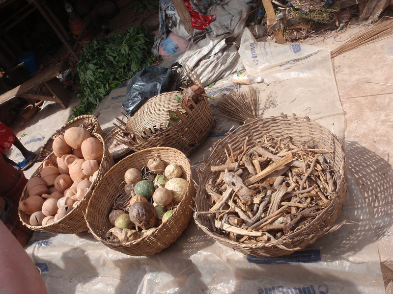 133_Abomey-Calavi Fetish Market  Raw Materials for Intervention