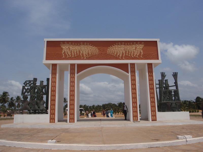 018_Ouidah  The Door of No-Return  A Poignant Memorial