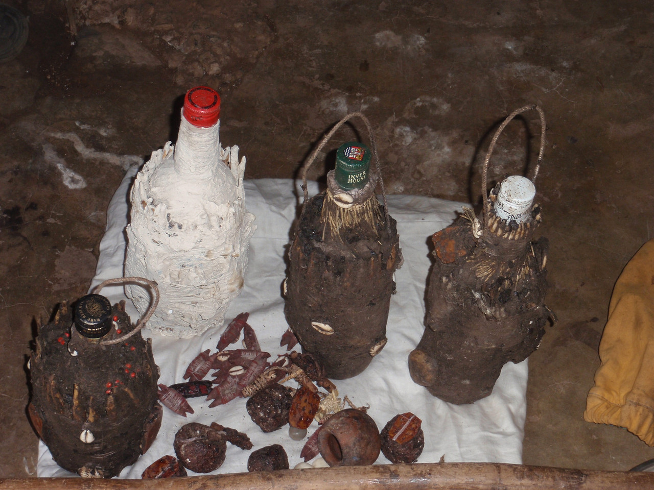 136_Abomey-Calavi Fetish Market  Raw Materials for Intervention