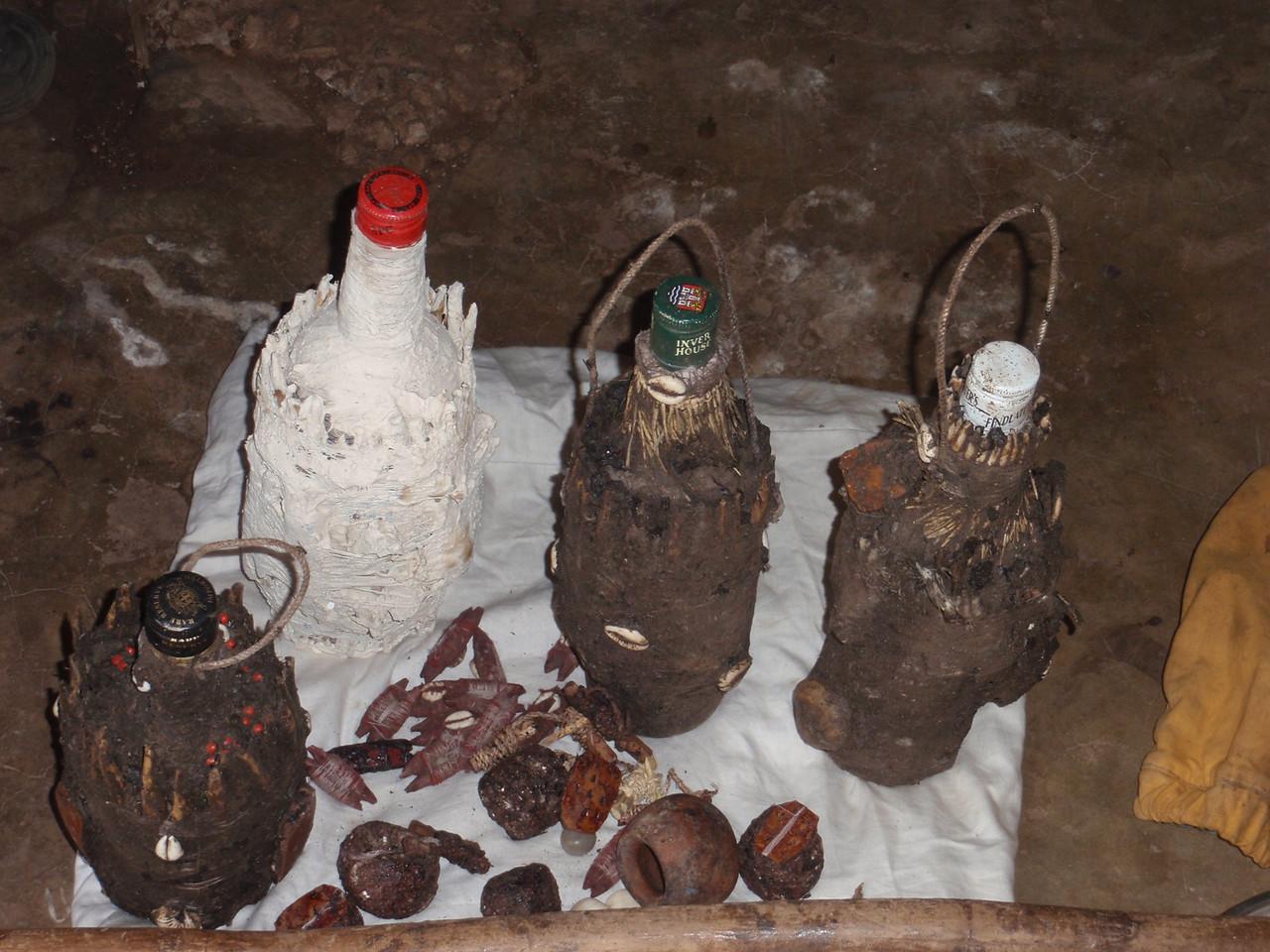 136_Abomey-Calavi Fetish Market  Raw Materials for Intervention