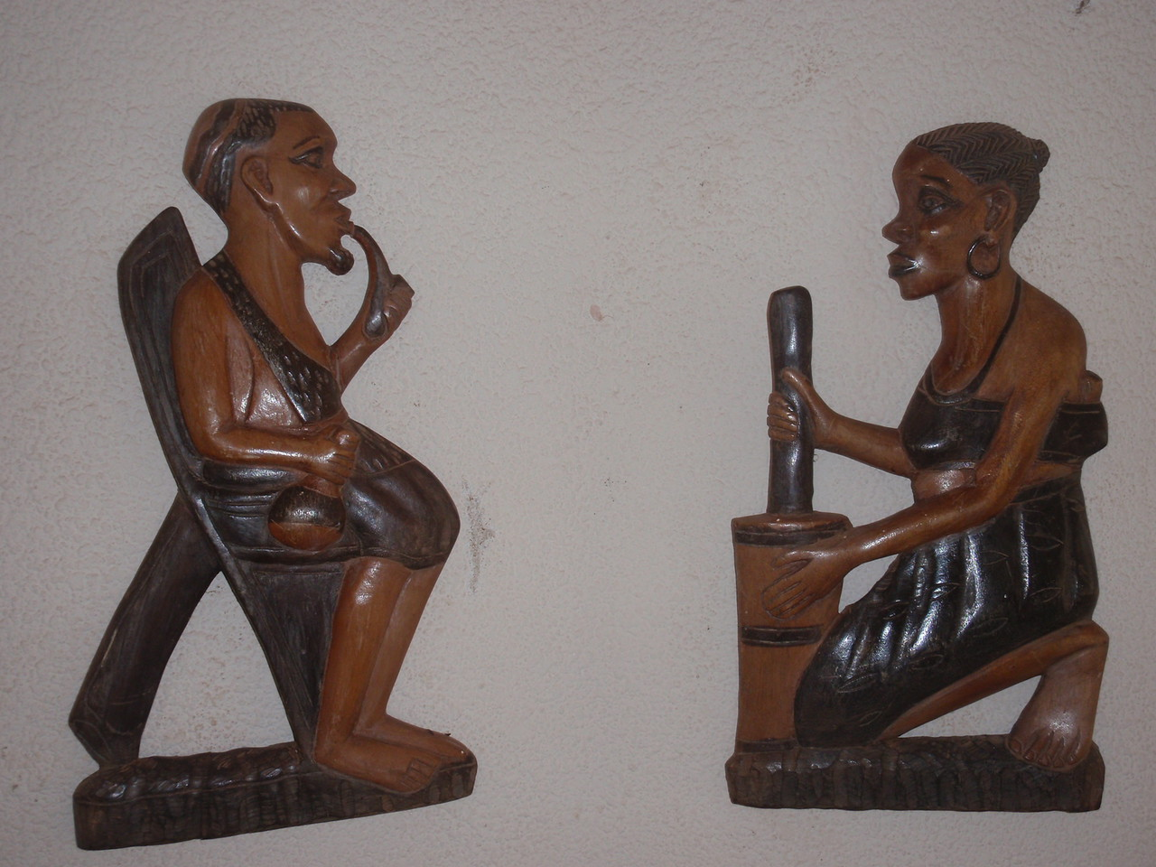 071_Abomey  Woodcarvings