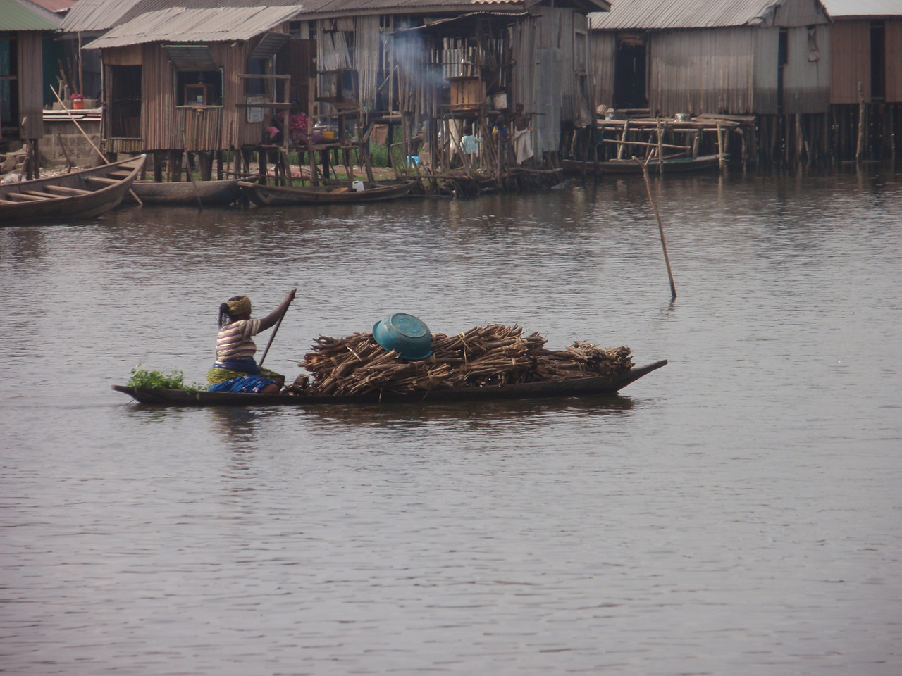 115_Ganvie Lake Community  Lake Nokoue  Small Floating Markets