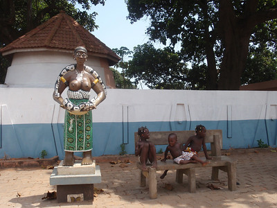 031_Ouidah  The Python Temple  An Important Voodoo Shrines
