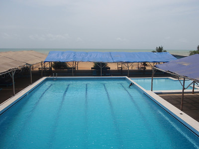 026_Ouidah  Auberge Diaspora  Along the Golfe of Guinee
