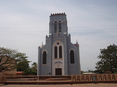 029_Ouidah  The Basilica  40% of Population is Christian